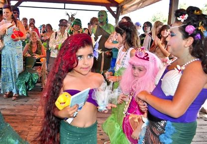 Mermaid Parade in Sacramento Press