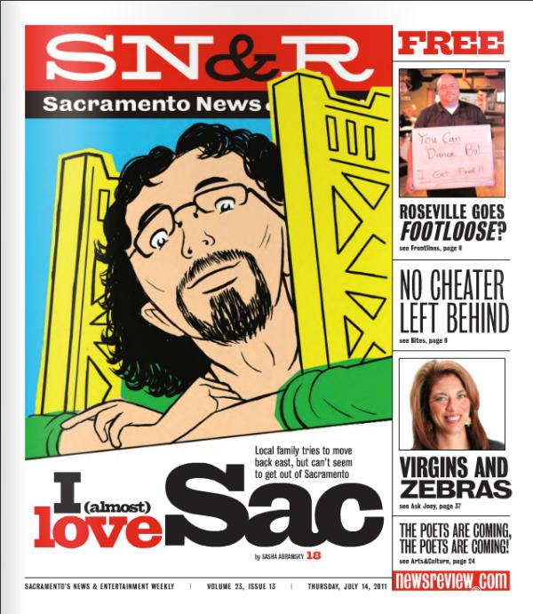 Sacramento News & Review Cover, 7/14/2011